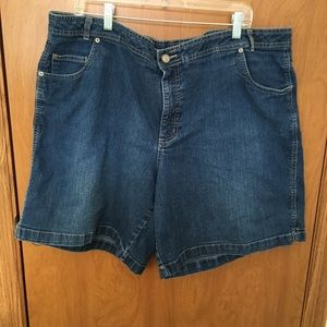 Just my size woman's denim shorts